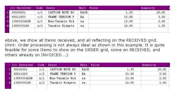 ies purchasing po transaction and tax flow